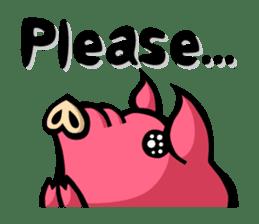 PIGGIE the Pinky Pig sticker #6209020