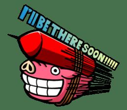 PIGGIE the Pinky Pig sticker #6209024