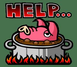 PIGGIE the Pinky Pig sticker #6209025