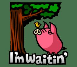 PIGGIE the Pinky Pig sticker #6209026