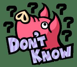 PIGGIE the Pinky Pig sticker #6209027