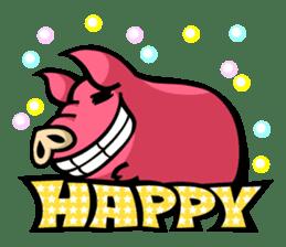 PIGGIE the Pinky Pig sticker #6209029