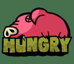 PIGGIE the Pinky Pig sticker #6209037