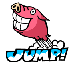PIGGIE the Pinky Pig sticker #6209039