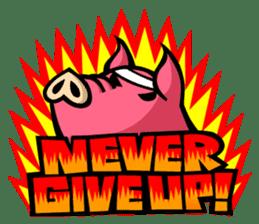 PIGGIE the Pinky Pig sticker #6209042