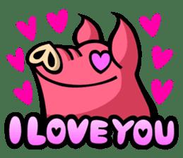 PIGGIE the Pinky Pig sticker #6209044