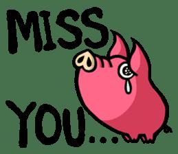PIGGIE the Pinky Pig sticker #6209046