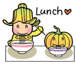 Hanako and Pumpkin chan sticker #6212218