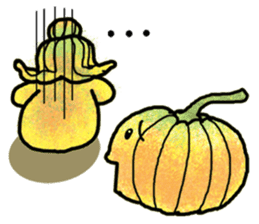 Hanako and Pumpkin chan sticker #6212233