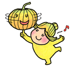 Hanako and Pumpkin chan sticker #6212242