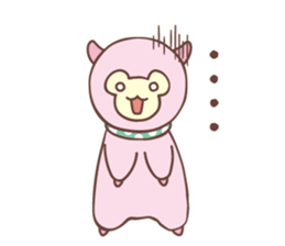 PACO the Alpaca sticker #6213373