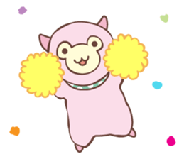 PACO the Alpaca sticker #6213398