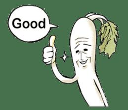 Enjoy Daikon sticker #6214137