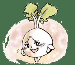 Enjoy Daikon sticker #6214143