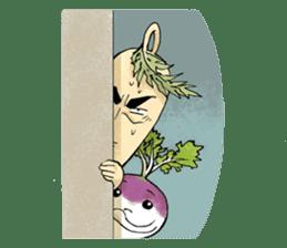 Enjoy Daikon sticker #6214160