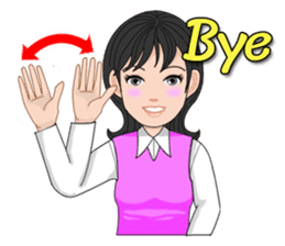 Thai Sign Language Vol.1 sticker #6215412