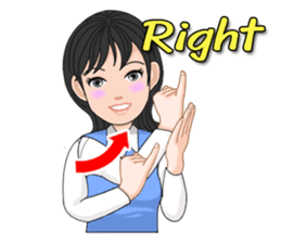 Thai Sign Language Vol.1 sticker #6215427