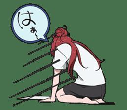 SHIROBAKO vol.1 sticker #6216699