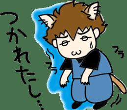 cat craftsman3 sticker #6217866