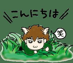 cat craftsman3 sticker #6217876