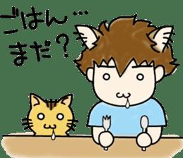 cat craftsman3 sticker #6217886