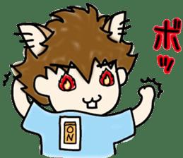 cat craftsman3 sticker #6217900