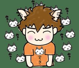 cat craftsman3 sticker #6217903