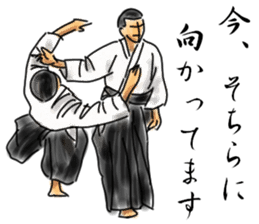 AIKIDO TIME sticker #6219933