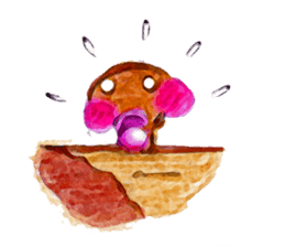 the little mushroom sticker #6227388