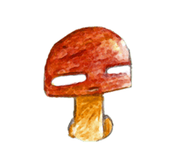 the little mushroom sticker #6227398