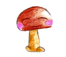 the little mushroom sticker #6227399