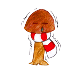 the little mushroom sticker #6227404