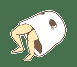 Medjed-like fascination sticker #6230856