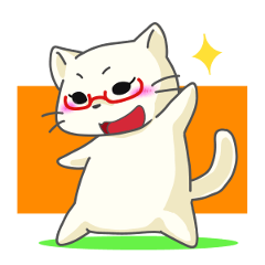 Ms.Glasses Cat