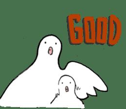 Reaction of pigeon sticker #6237172