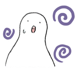 Reaction of pigeon sticker #6237173