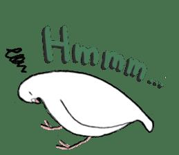 Reaction of pigeon sticker #6237174