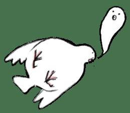 Reaction of pigeon sticker #6237193