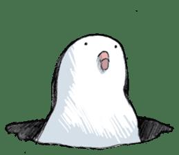 Reaction of pigeon sticker #6237194