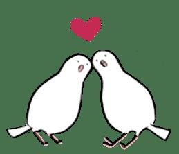 Reaction of pigeon sticker #6237195