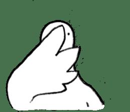 Reaction of pigeon sticker #6237198