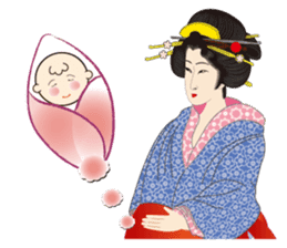 Life of a Modern Ukiyo-e Girl2 sticker #6241611