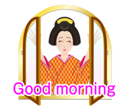 Life of a Modern Ukiyo-e Girl2 sticker #6241612