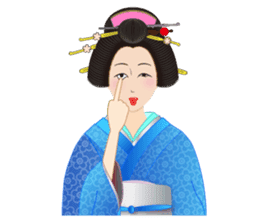 Life of a Modern Ukiyo-e Girl2 sticker #6241631