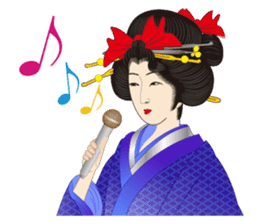 Life of a Modern Ukiyo-e Girl2 sticker #6241633