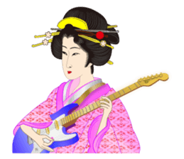 Life of a Modern Ukiyo-e Girl2 sticker #6241634