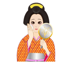 Life of a Modern Ukiyo-e Girl2 sticker #6241642