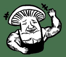 Muscle Mushroom sticker #6250883