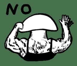 Muscle Mushroom sticker #6250890