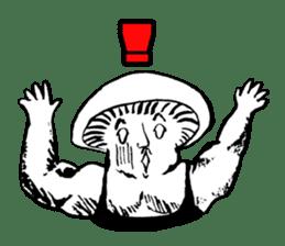 Muscle Mushroom sticker #6250897